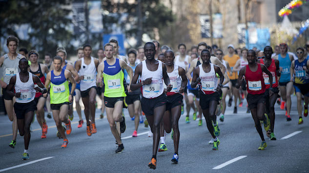 Battle Of Marathons As A Road Race